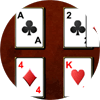 Beleaguered Castle Solitaire